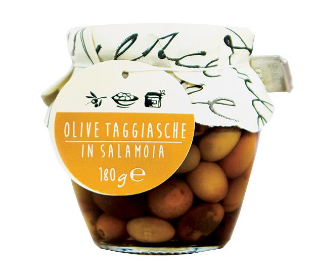 Le Olive Taggiasche in Salamoia